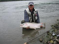 Rute Fliegenfischen,Skeena  Steelhead