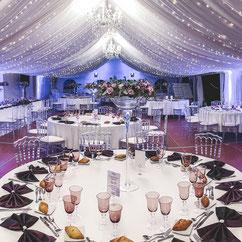 Salle de mariage au Chateau Belle Epoque à Linxe 40