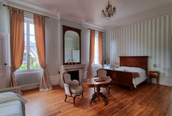 Guest rooms at Château Belle Epoque at Linxe (40)