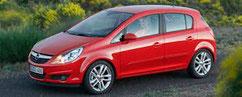 Opel Corsa D cerchi in lega