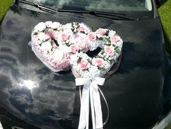 Hochzeitsherz zur Auto oder Saaldekoration