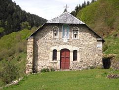 Chapelle de l'Izard, vallée du Biros