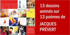 13 poèmes de JACQUES PRÉVERT