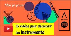 MOI JE JOUE: 15 vidéos