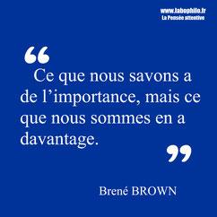 Brené Brown Citation.
