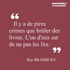 Ray Bradbury citation