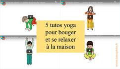 Yoga pour enfants: 5 tutos animés