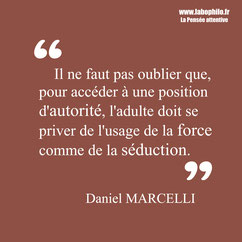 Daniel Marcelli citation autorité