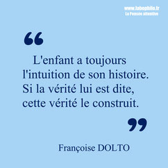 Françoise Dolto citation