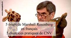 5 cours de Marshall ROSENBERG