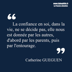 Catherine Gueguen citation
