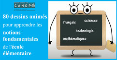 80 dessins animés éducatifs