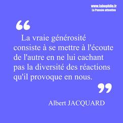Albert Jacquard citation