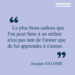 Jacques Salomé citation