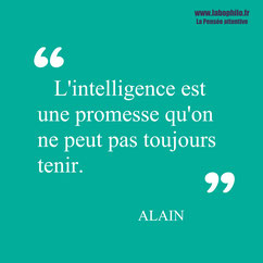 Alain citation
