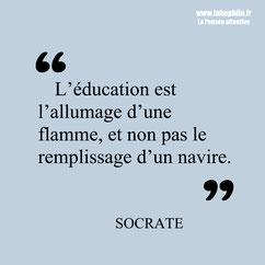 Socrate citation éducation
