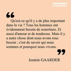 Jostein Gaarder citation