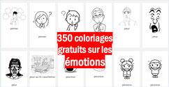 350 coloriage sur les EMOTIONS