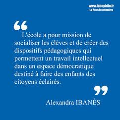 Alexandra Ibanès. Michel Tozzi. Philosophie pour enfants