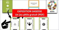 EXPÉDITION SAGESSE: jeu philo gratuit
