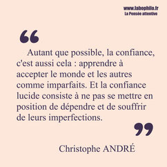 Christophe André citation