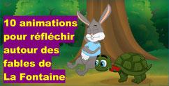 10 animations sur LA FONTAINE
