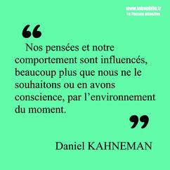 Daniel Kahneman citation amorçage ancrage