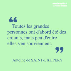 Antoine de Saint-Exupéry citation