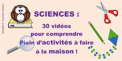 30 tutos + EXPÉRIENCES SCIENTIFIQUES