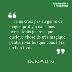 JK Rowling citation