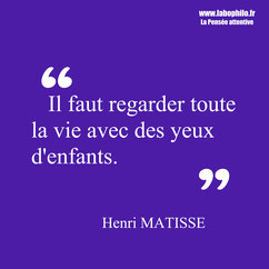 Henri Matisse citation