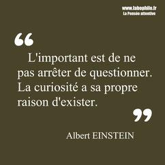 Albert Einstein citation