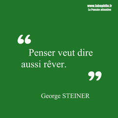 George Steiner citation