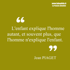 Jean Piaget citation