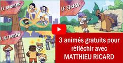 3 animés pour réfléchir avec M. RICARD