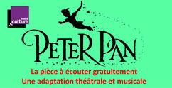 PETER PAN: la pièce à écouter