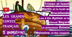 CONTES FRANCAIS: 5 animations