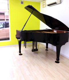 ちあき音楽教室久留米教室カワイグランドピアノ
