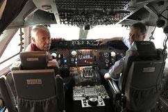 Boeing-747 Flugsimulator
