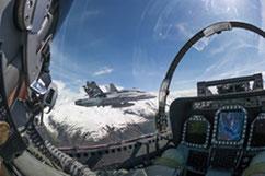 F/A-18 Flugsimulator