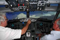 Boeing-737 Flugsimulator