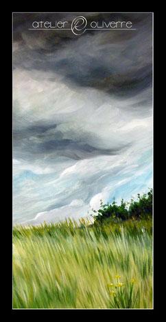 peinture ciel panoramique creuse