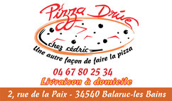 Pizza drive  Balaruc les bains