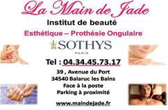 Institut de beauté la main de jade Balaruc les bains