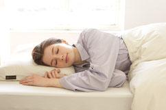 オーダーメイド枕でぐっすり眠る