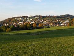 Blick auf Le Noirmont