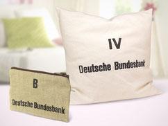 Upcycling Produkte Kissen und Tasche von himmelrosa