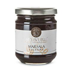 Gelatina de vino MARSALA Fine DOP de Sicilia (8,50€ und)