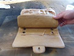 Coco Chanel Tasche mit Abnutzungen