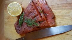 Filet de saumon Gravlax